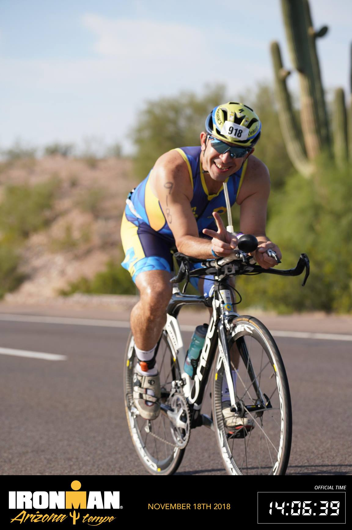 Arizona Ironman 2018 bici