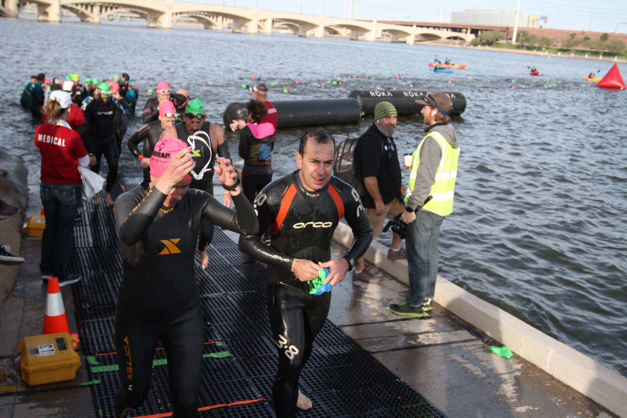 Arizona Ironman 2018 natacion