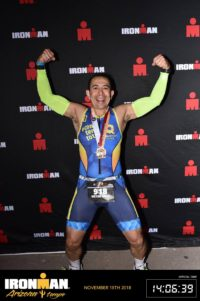Arizona Ironman 2018 celebración