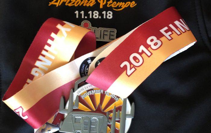 Arizona Ironman 2018 medalla