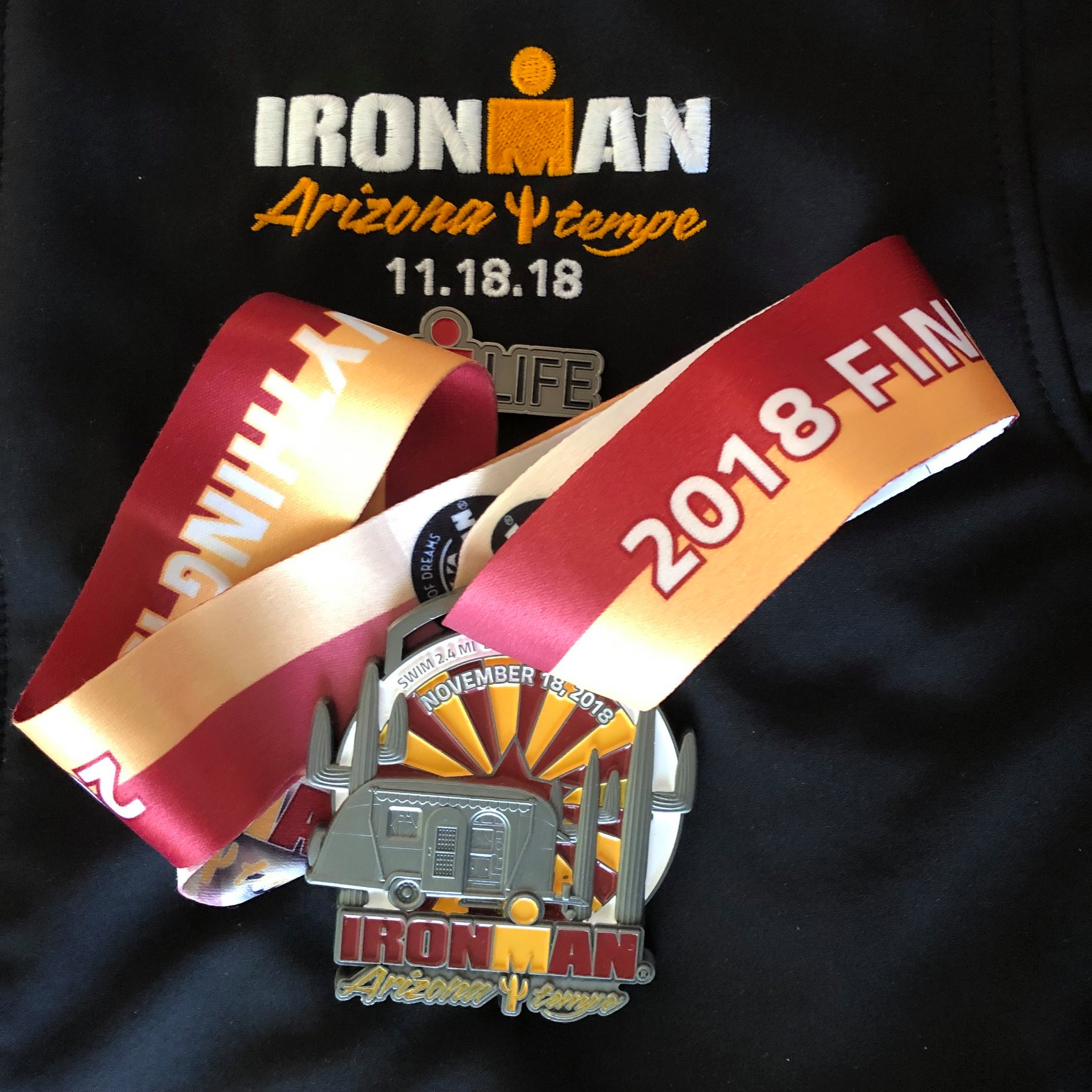 Arizona Ironman 2018 medalla